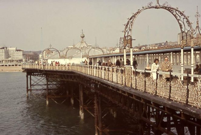 Palace Pier - early 1970s | Donated to the site by John Lamper