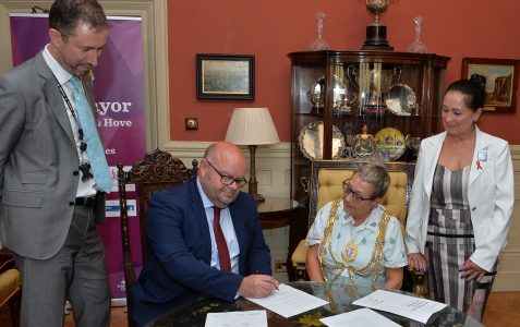 City signs up to international HIV initiative