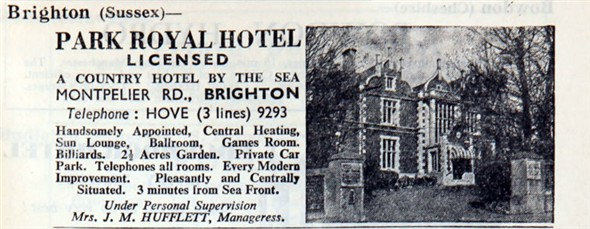 Park Royal Hotel | From the private collection of Mark Thompsom
