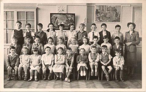 Class photograph c1951