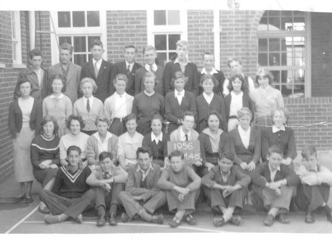 Patcham Secondary Modern School in 1956 | From the private collection of Mary Smith nee Gillespie