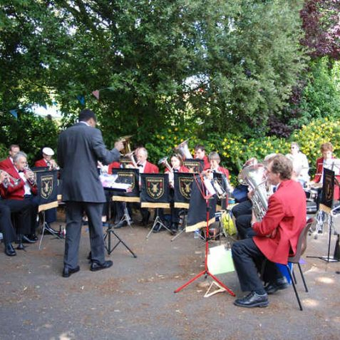 The Patcham Silver Band | Photo by Tony Mould