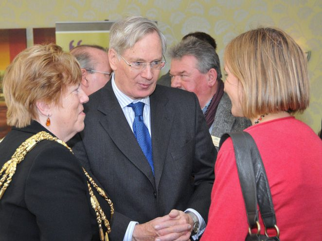 HRH Duke of Gloucester and the Mayor, Councillor Ann Norman | Photo by Tony Mould