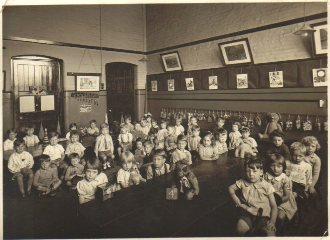 Pelham Street School in the 1930s | From a private collection