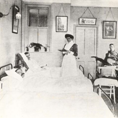 The infirmary at 11 Portland Road c. early 1900s | From the private collection of Tony Drury