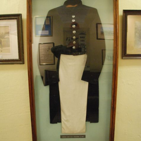 Uniform of a 19th century constable | Photo by Tony Mould