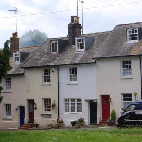 Pond Cottages, Patcham   Photo by Tony Mould