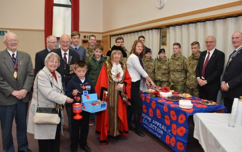 Poppy Day Appeal launch