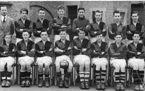 School Football Team 1954/55
