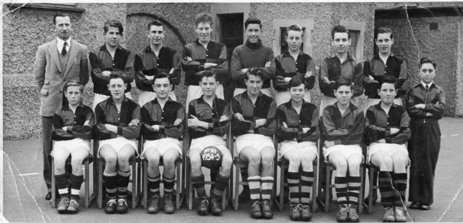 Portslade County School football team | From the private collection of Paul Abbott