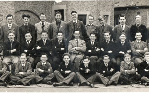 Final Year Form 4A  1955