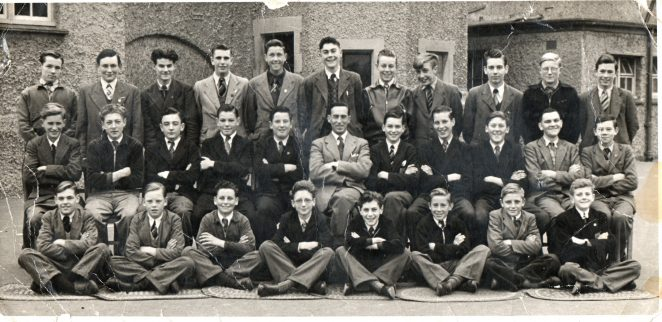 Form 4a Portslad County School | From the private collection of Paul Abbott