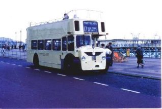 A Bristol Lodekka bus | From the private collection of Alan Hobden
