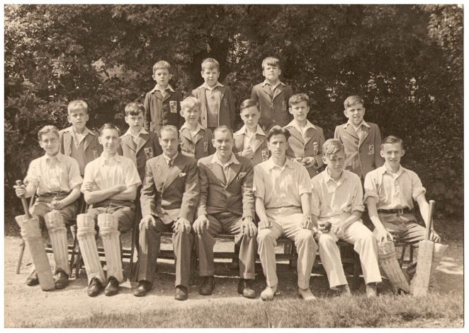 Cricket team | From the private collection of Maurice Brice