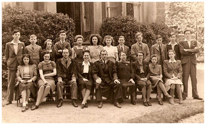 Staff and senior pupils | From the private collection of Maurice Brice