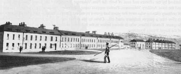 Preston Cavalry Barracks c1850 | From a private collection