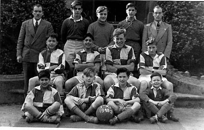 Preston College football team 1948/49 | From the personal collection of Brian Hough