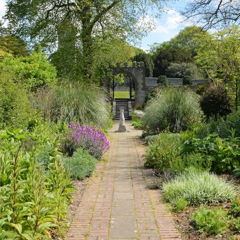 Preston Manor walled garden | ©Tony Mould: all images copyrighted