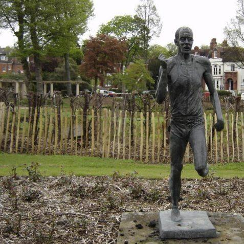 Steve Ovett's statue | Photo by Brian