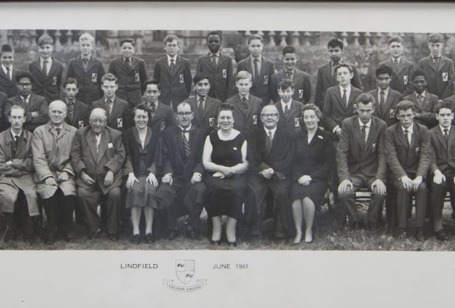 School photograph 1961   From the private collection of Barrie Glibbery