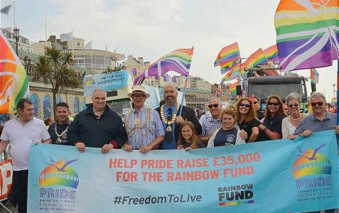 Brighton and Hove Pride 2014