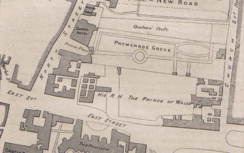 Promenade Grove: Brighton's first pleasure garden