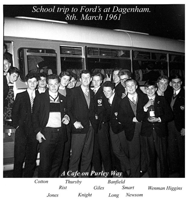School trip in 1961 | From the private collection of Chris McBrien