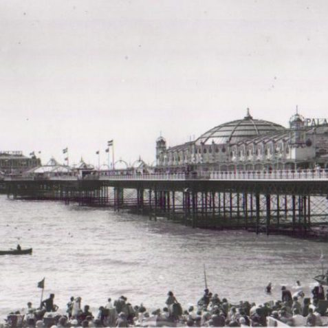 Palace Pier close up | Photo by Bert Clayton