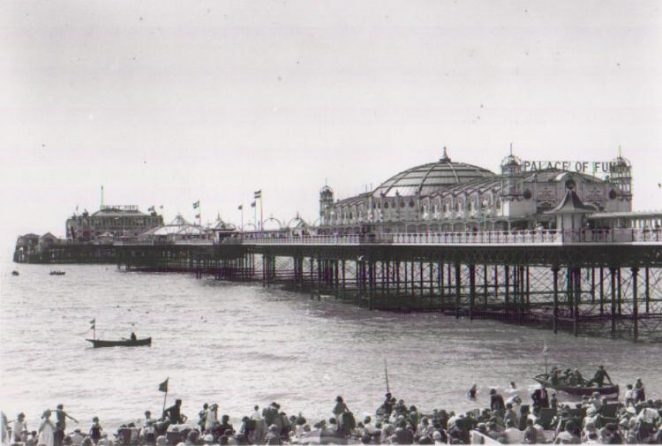 Palace Pier close up | Photo by Bert Clayton