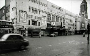 Photograph of the Brighton Palladium | From the private collection of Trevor Chepstow