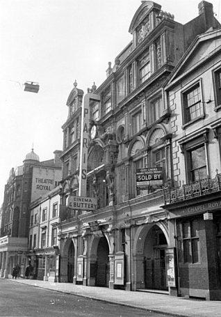 Orginally a 19th century theatre | The Paris Continental Cinema | My