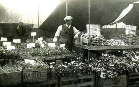 Market stalls c1935