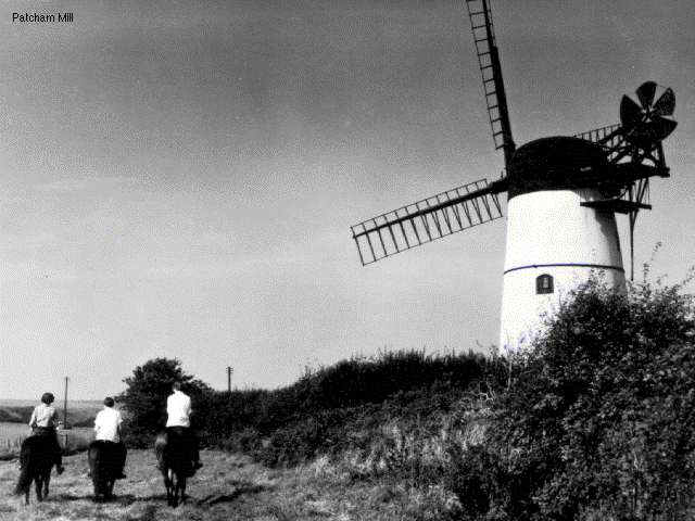Patcham Mill | Image from the 1994 'My Brighton' exhibit