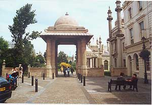 The Indian Gate - entrance to the Pavilion grounds from the south | Photograph from the Brighton and Hove Black History website