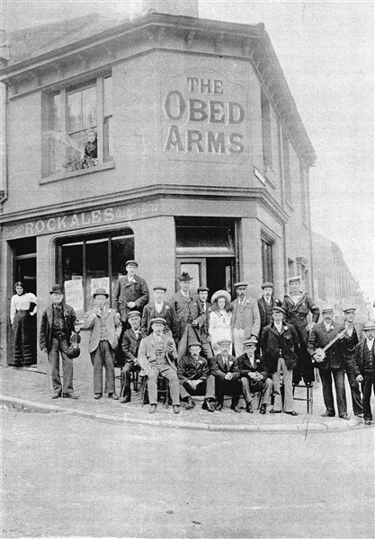 Obed Arms pub outing | From the private collection of David Wickham