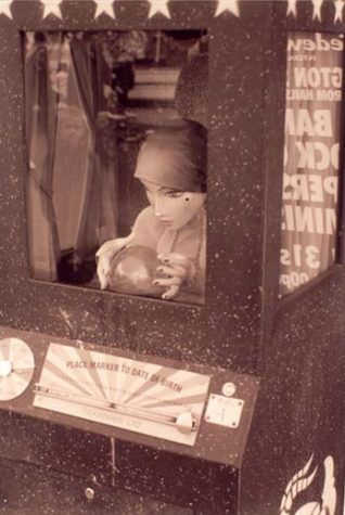 Slot machine at the Mechanical Memories Museum, Brighton seafront | Photograph by Anne Fortis