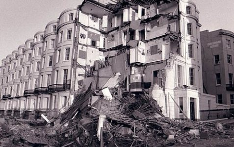 Notes and queries: Building collapse in 1987