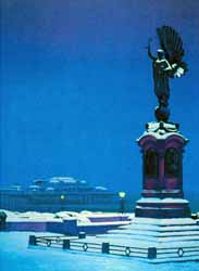 Photo of The Peace Statue | Painting by Philip Dunn