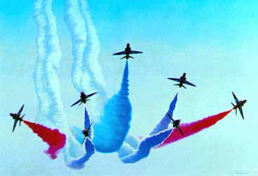 Red Arrows: colours in the sky