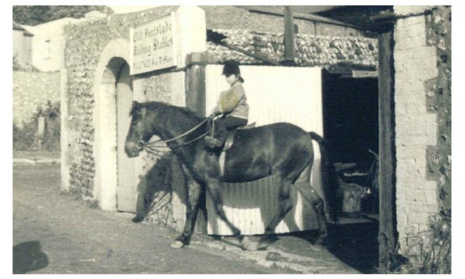 Old Village Riding Stables in the early 1960s | From the private collection of Lorraine Luke