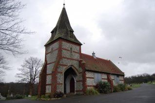 Knapped flint chapel | Photo by Tony Mould