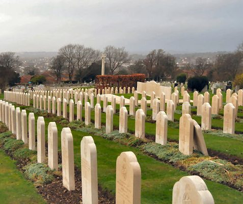 English war graves | Photo by Tony Mould