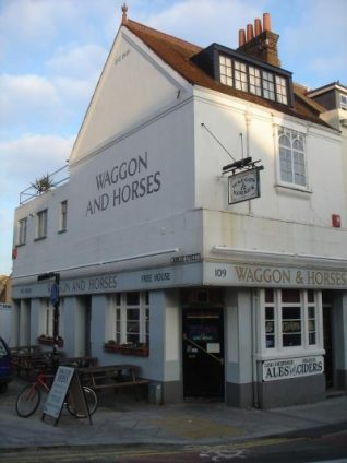 Wagon and Horses pub, built in 1848. | Photo by Chris Webb