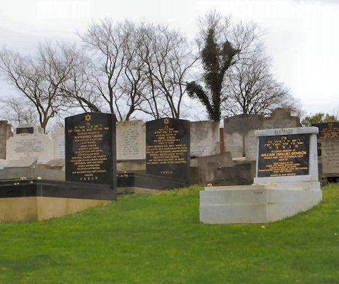 Jewish graves | Photo by Tony Mould