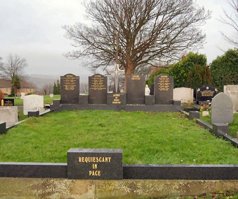 Communal grave for the Sisters of Mercy | Photo by Tony Mould