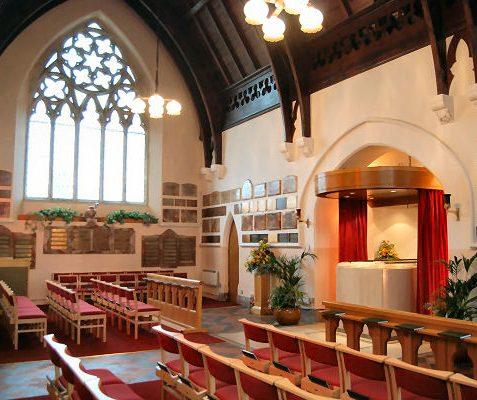 Interior of chapel | Photo by Tony Mould