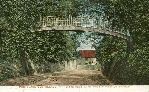 A photograph of Portslade Old Village   From a private collection