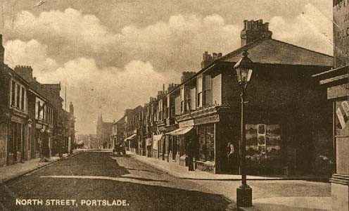 North St, Portslade | Postcard from the private collection of Bob Carden