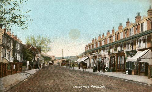 Station Road, Portslade, 1907 | From the private collection of Bob Carden