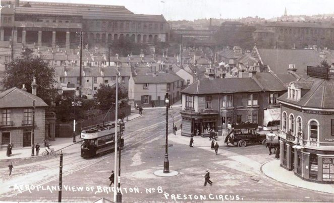 Undated image of Preston Circus | From the personal collection of Jennifer Drury